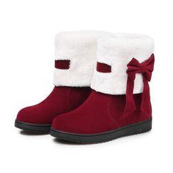 Damskie buty zimowe Elma