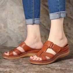 Dámské pantofle na klínku Mellody
