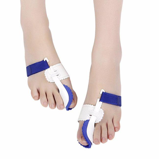 Podešljivi korektor izbočenog palca - 1 par 1