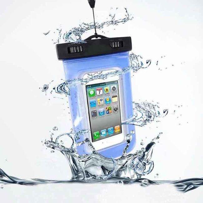 Praktické vodotěsné pouzdro pro smartphony do 5,5