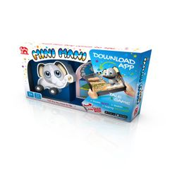 Interaktív gyerekjáték gyerekeknek Mini Mani - elefánt