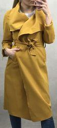 Női polár kabát - sárga
