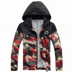 Pánská podzimní bunda - army