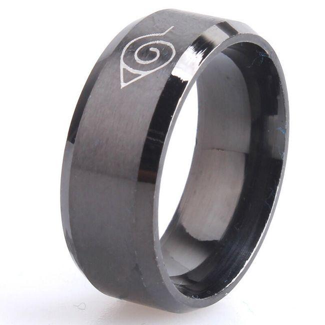 Široký prsten s ornamentem - 3 barvy 1
