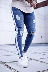 Jeans lejeri pentru bărbați - 2 variante