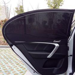 Nawlekana zasłona do szyby bocznej samochodu - 2 sztuki