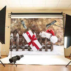 Moderní ateliérové fotopozadí - vánoční dárek