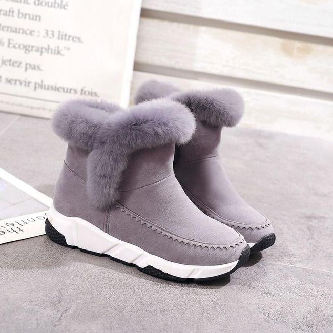 Tople ženske cipele sa višim đonom 1
