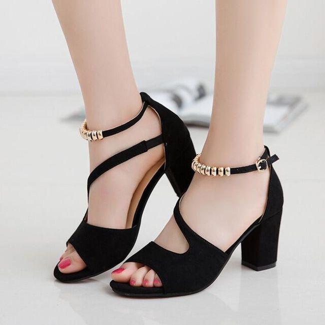 Dámské boty na podpatku Elise 1