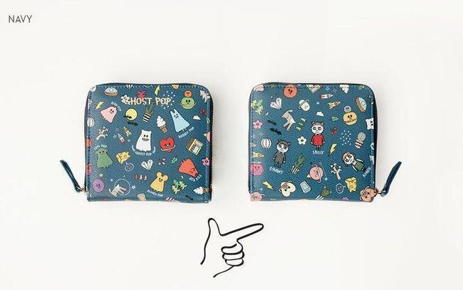Eredeti kis pénztárca - különféle minták