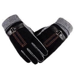 Zateplené rukavice na motorku