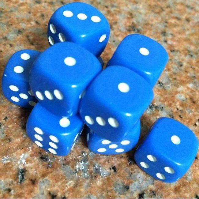 Set 10 kock - različne barve 1