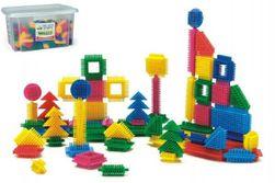 Stavebnica ježkovia 500dílků plast v plastovej krabici 40x23x35cm Wader RM_89080163