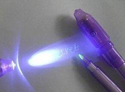 UV toll láthatatlan tintával - 7 változat