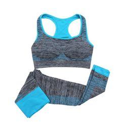 Ženski fitnes set - helanke i sportski grudnjak