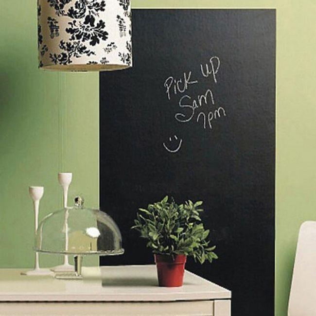 Öntapadós fali panel - fekete 1