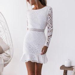 Женское платье с длинными рукавами Temesa