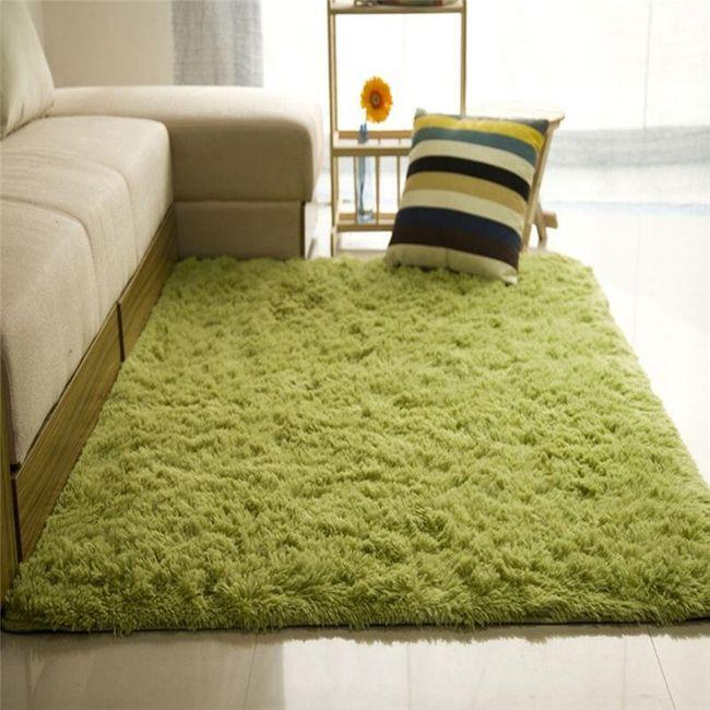 Mekani plišani tepih za domaćinstvo 1