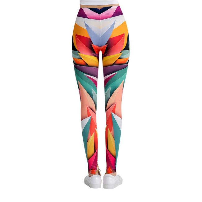 Színes fitness Leggings Cool -több variáció