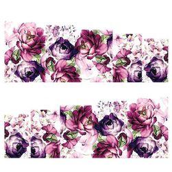 Nalepke za nohte z rožami