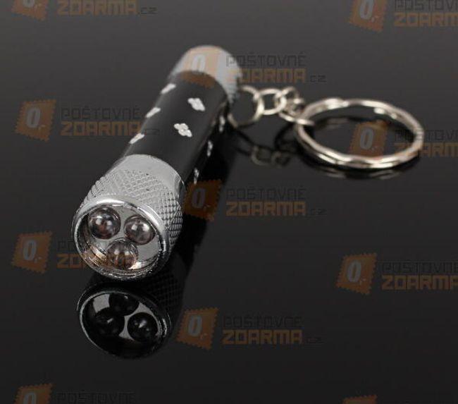 Kulcstartó LED lámpával és három diódával 1
