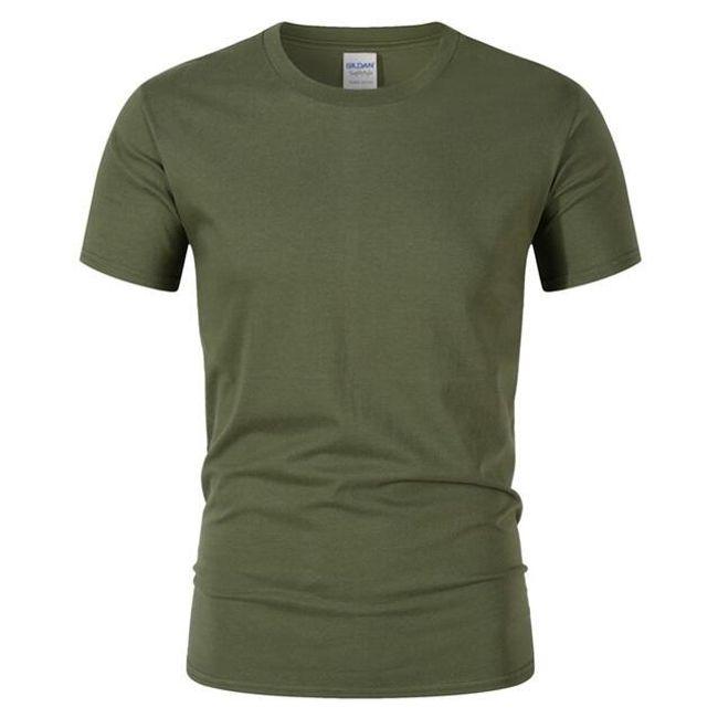 Egyszínű férfi póló - 15 szín