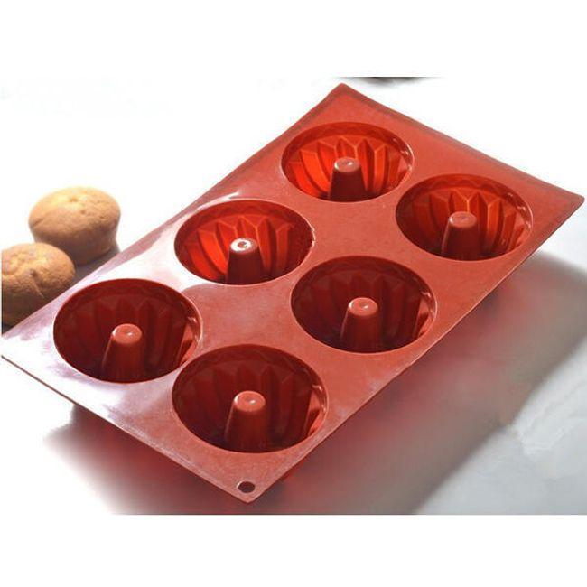 Szilikon sütőforma - kisseb kuglófra 1