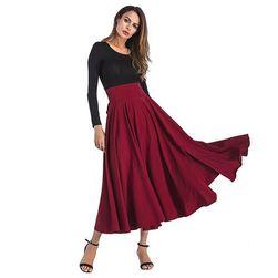 Rochie casual cu talie înaltă - 4 culori