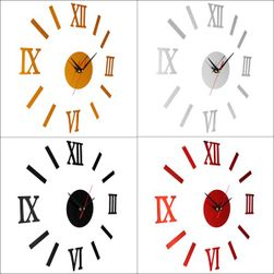 Zidni sat sa rimskim brojevima - 4 varijante