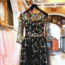 Elegantna haljina sa cvetićima