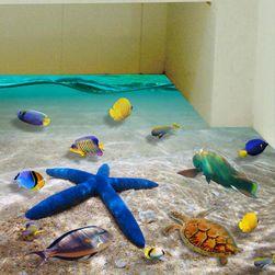 3D samolepka - mořské dno