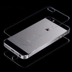 Elöl és hátul átlátszó edzett üveg iPhone-hoz