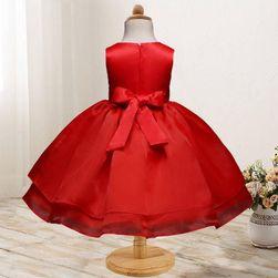 Dívčí šaty s bohatou sukní - 5 barev
