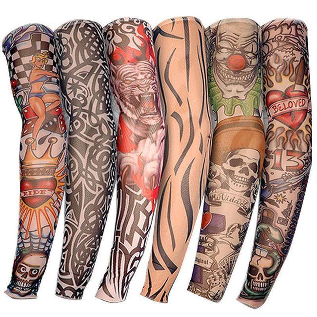 Elastičen rokav - tetovaža 1