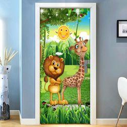 3D стикер за врата SAM1