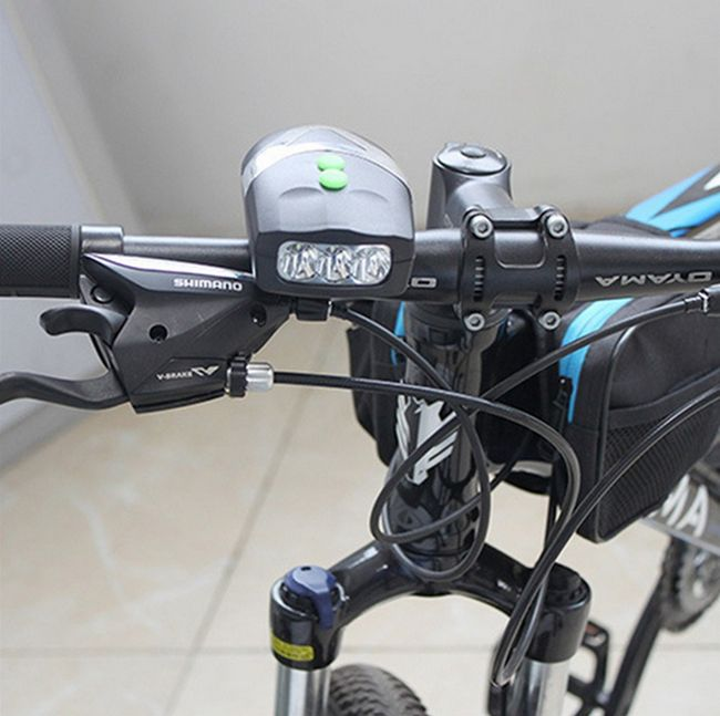 Bezpečnostní LED světlo pro cyklisty 1