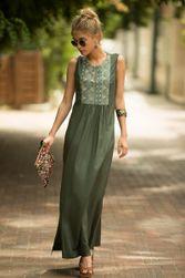 Długa damska sukienka Cokie