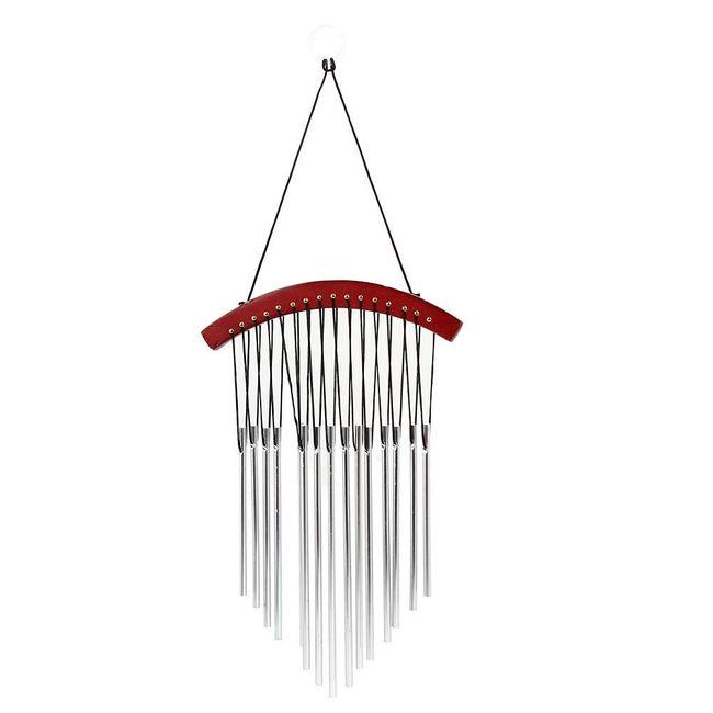 Venkovní zvonkohra v kombinaci se dřevem 1