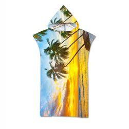 Peškir za plažu sa kapuljačom HJ67