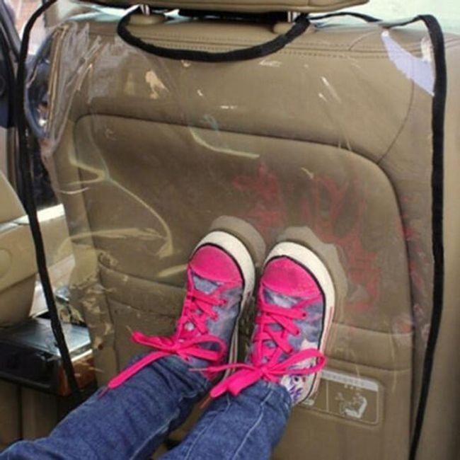 Protecție scaun auto față - 2 culori 1