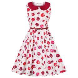 Женское платье А-силуэта Pomegranate