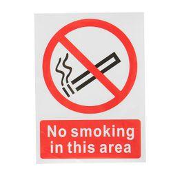 Autocolant  - Fumatul interzis
