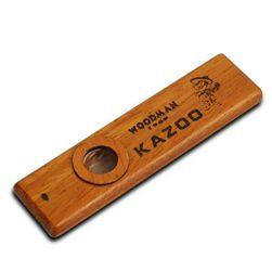 Kazoo u drvenom dizajnu