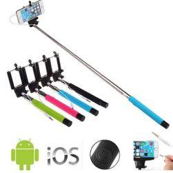 Selfie drążek teleskopowy dla iOS i Android.
