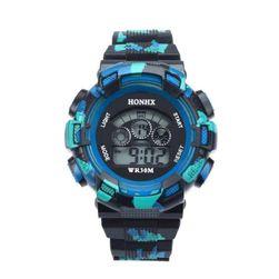 Digitální hodinky ve sportovním stylu - 4 varianty