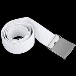 Unisex pásek v bílé barvě