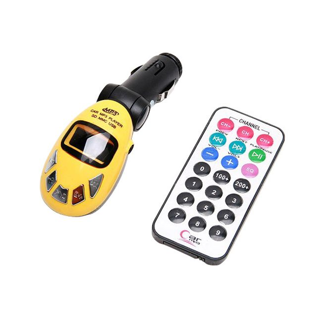 Nadajnik MP3 FM z pilotem na pendrive i kartę SD - do wyboru 5 kolorów 1