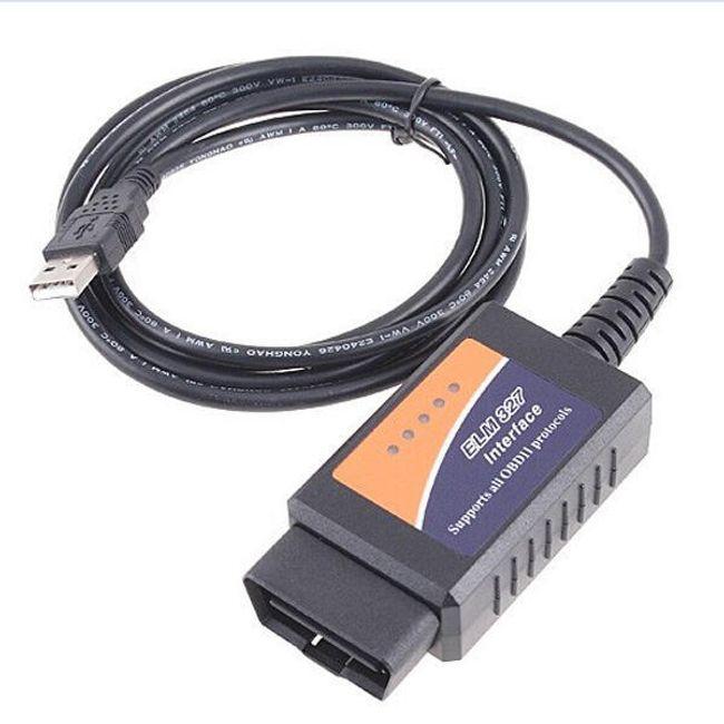 USB диагностична система за автомобил ELM 327 V 1,5 OBD2 1