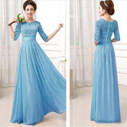 Rochie elegantă cu mâneci trei sferturi - 3 culori