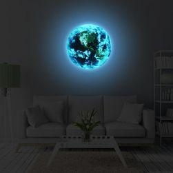 3D naljepnica - svijetleća planeta